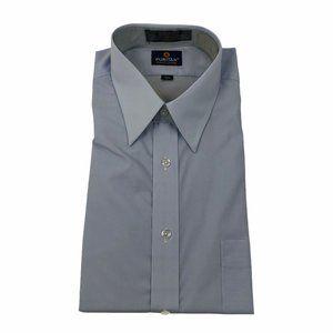 Vintage Puritan Men's Dress Shirt Size 15.5 Wrinkle Free Short Sleeve Regular